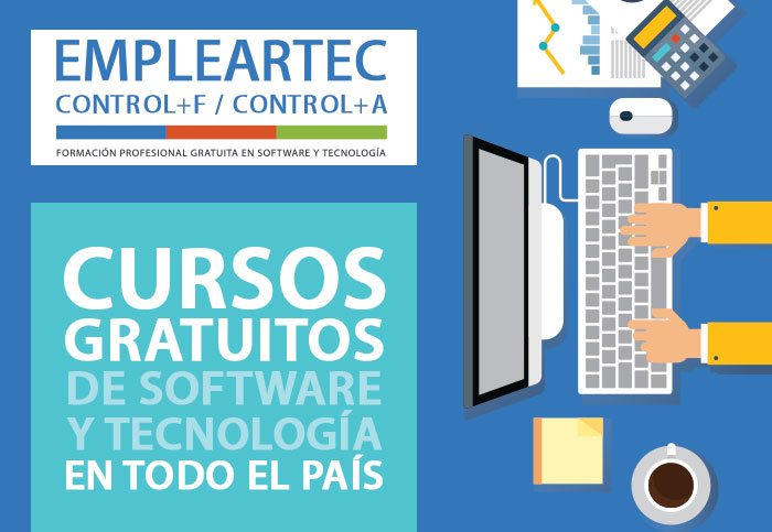 Capacitate gratis en software y tecnología